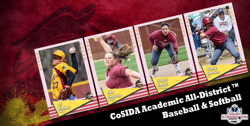 Park landed four student-athletes on the CoSIDA Academic All-District™ baseball and softball teams for District 3.