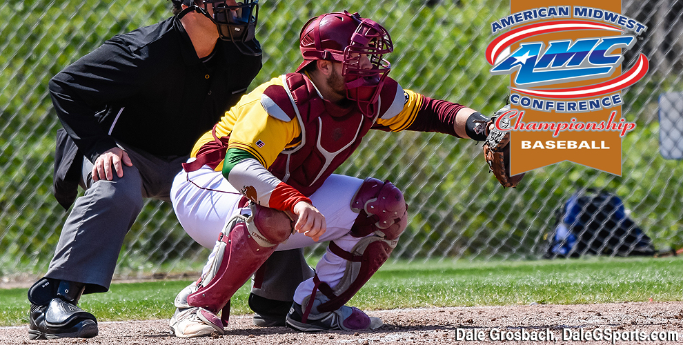 Carlos Delgadillo had a double and two RBIs in his final collegiate game at Freed-Hardeman.