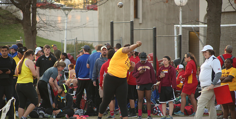 Park will send four throwers in the weight throw and shot put to the Highland Challenge Saturday.