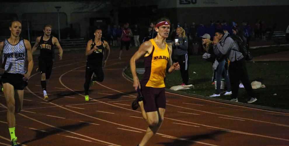 William Henry claimed the men's mile by one second over Christian Skinner Saturday at Highland.