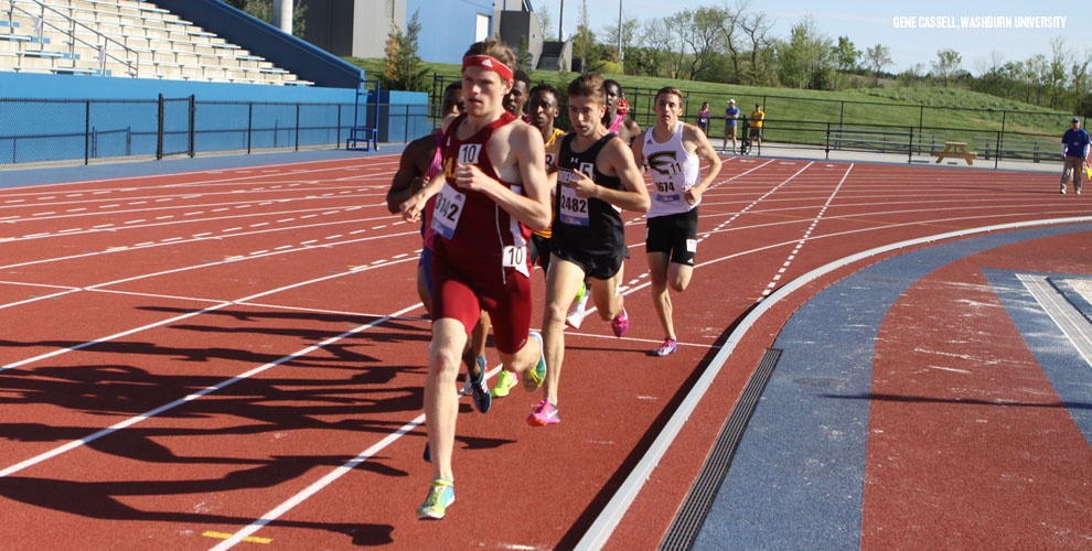 William Henry was part of Park's 4X400-meter relay team that qualified for the finals Saturday at the KU Relays.