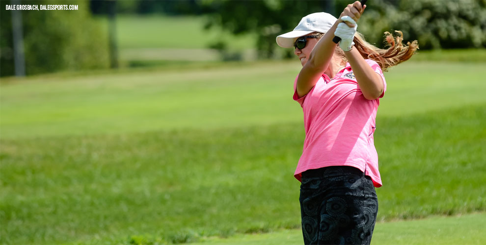 Makenzie Shivers will hunt for her fourth tournament title of the 2016-17 season Sunday in Springfield.