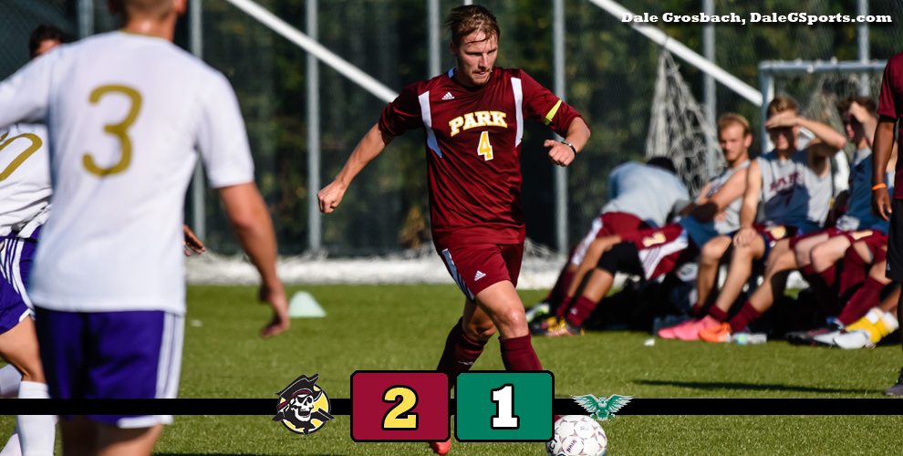 The Pirates' Tim Kloster scored the game winning goal to beat the Owls in double overtime.