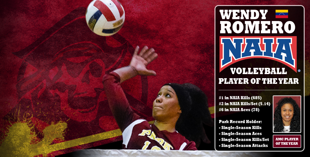 Wendy Romero leaves Park volleyball as a four-time single-season record holder and two-time All-American.