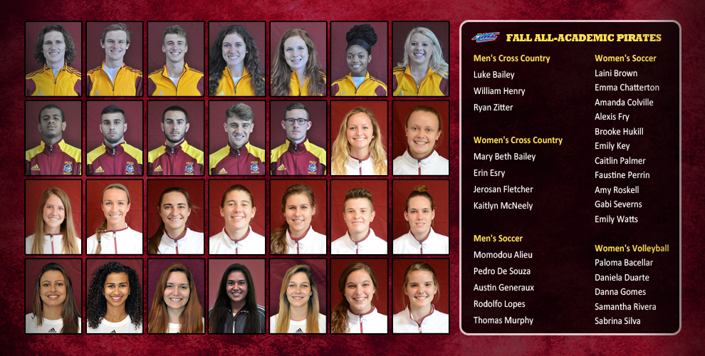 Park University put 28 student-athletes on the AMC's All-Academic Teams.