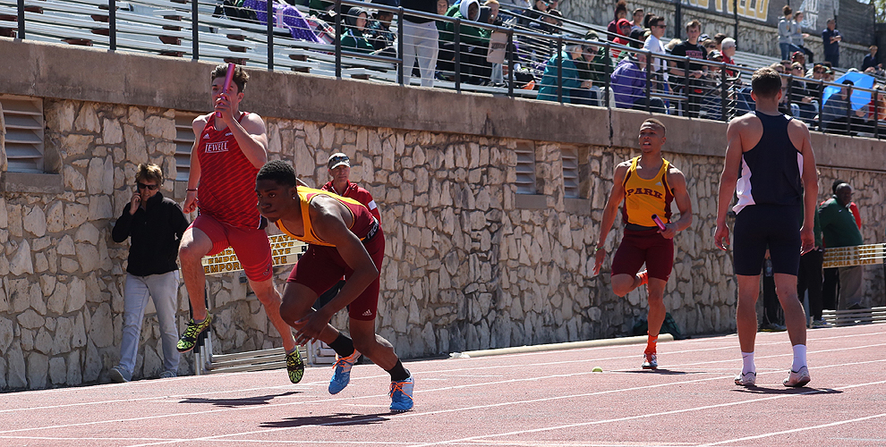 David Jackson and Marquel Harris will represent Park in the 4X400-meter relay in Elsah, Ill.