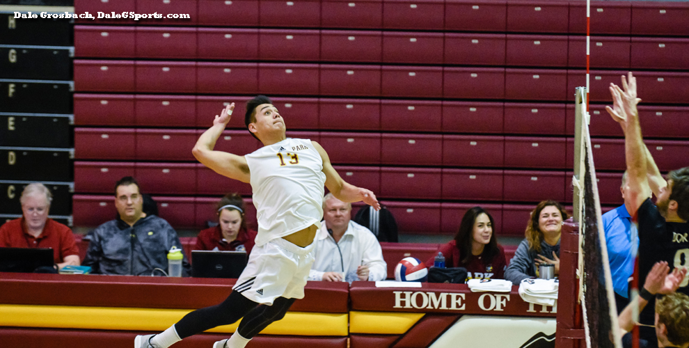 The Pirates' Mario Lucas had 10 kills and hit for .571 percent in the win over the Defenders.