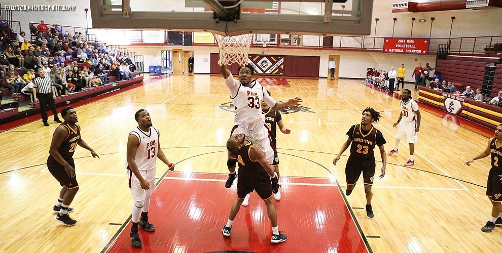 No. 17 Park couldn't get around an upset Saturday at The Breck, falling 70-69 to Harris-Stowe in the AMC semifinals.