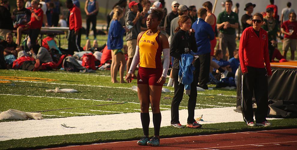 Jerosan Fletcher put herself in line for another NAIA appearance with a second-place finish in the 400 at ESU.