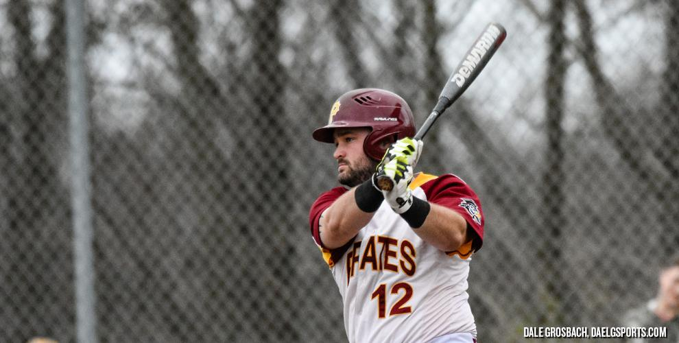 David White singled, doubled and tripled in Park's 8-4 win over Williams to clinch a sweep over the Eagles at Comfort Field.