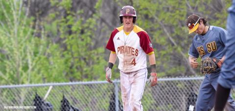 Austin Giannola drove in three runs in Park's 14-12 loss to Central Baptist.