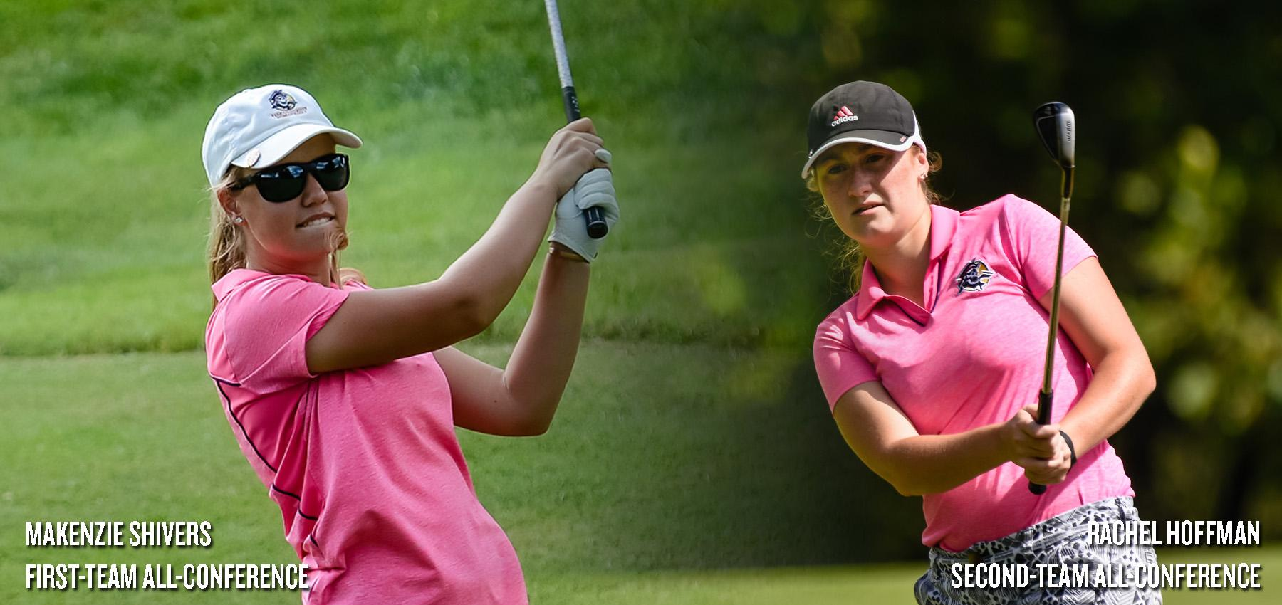 Pirate Pair Earns Women's Golf All-Conference Honors to Close 2016-17