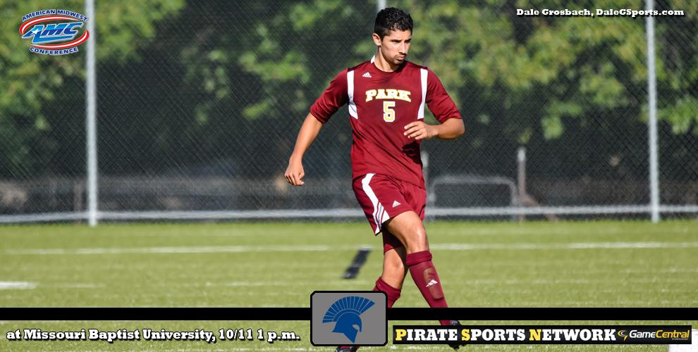 The Pirates men's soccer team heads to St. Louis, Missouri, to take on the Spartans in an AMC game.
