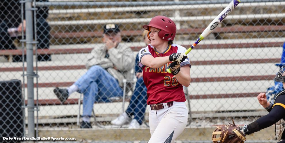 The Pirates' Hailey Costello hit a three-run home run in game two against the Eagles.