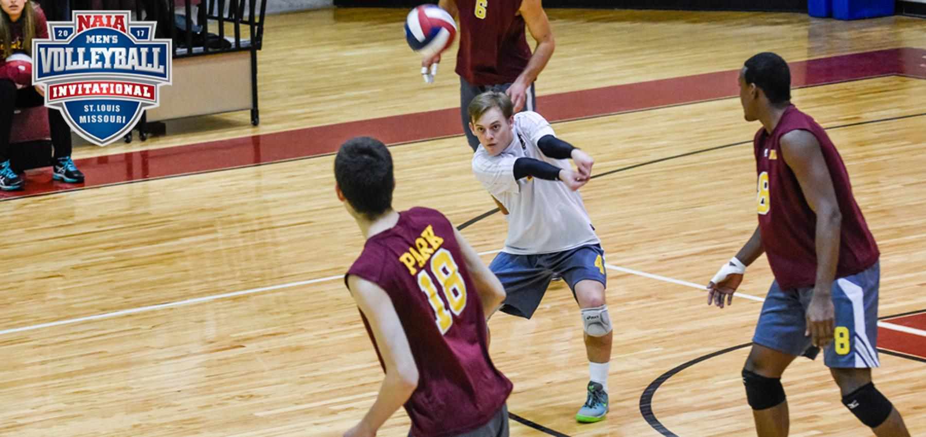 The Pirates' Billy Crow had a big night with 11 digs in the win over the Spartans.