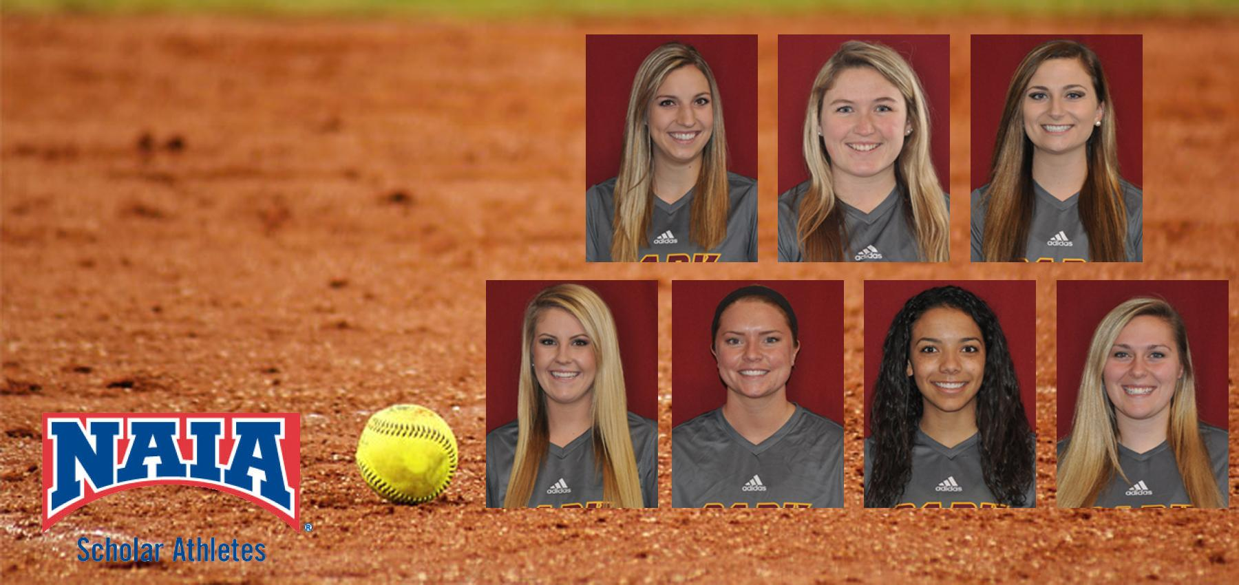 Seven Pirates Named to the 2017 Daktronics-NAIA Softball Scholar-Athletes Team