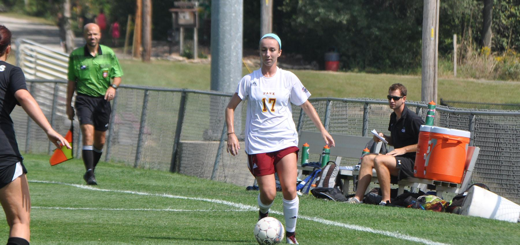 The Pirates' Alexis Fry scored the game-winning goal in the 82nd minute of play.