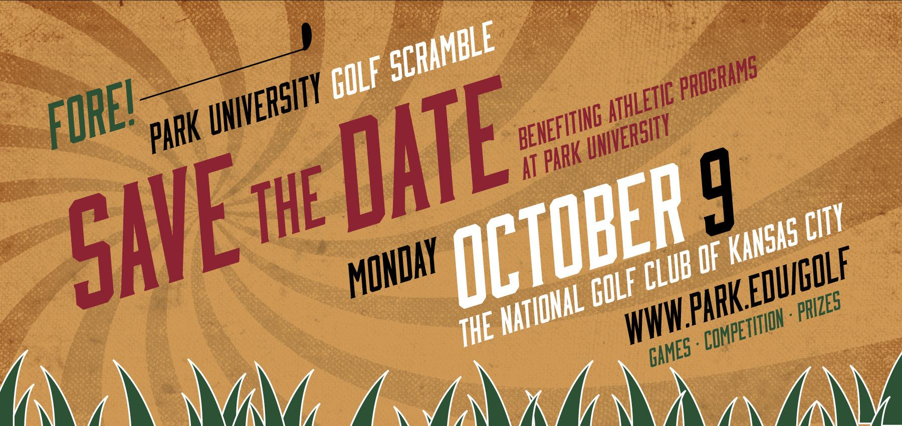 Sign up for the Park University Golf Scramble Today!