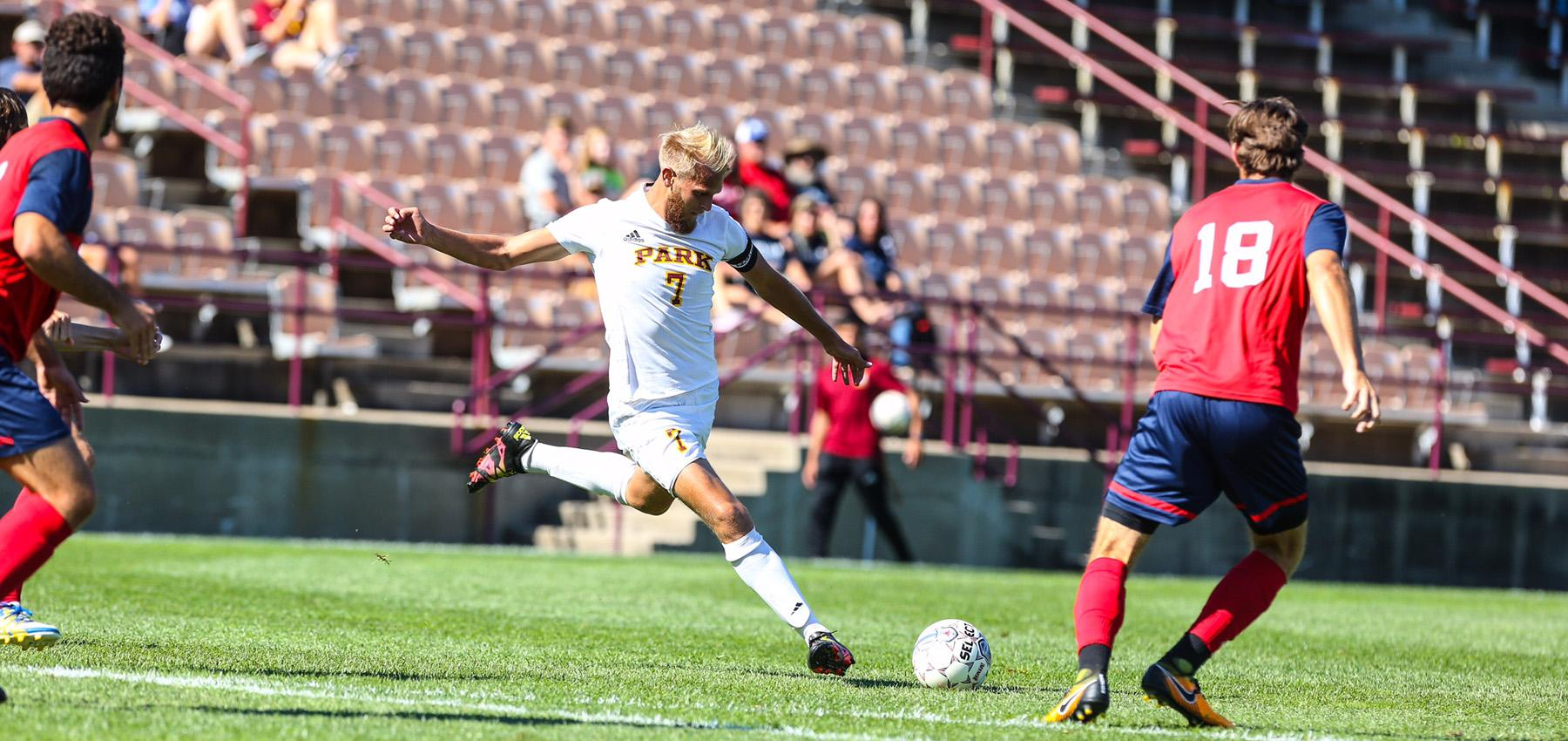 Men's Soccer Held to Second-Straight 1-1 Draw