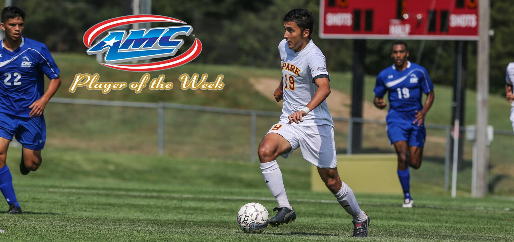 AMC Recognizes Salazar as Offensive Player of the Week